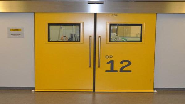 Automatic hermetic doors